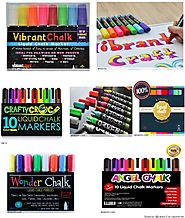 Liquid Chalk Markers For Chalkboards | Best Liquid Chalkboard Markers