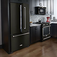 KitchenAid Expands Black Stainless Collection of Major Appliances