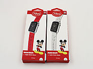 Disney Mickey Mouse Band Strap for Apple Watch (with Case Cover Skin) - ($39.99 + FREE SHIPPING)