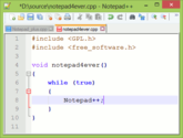 SharePoint Developer Tools | Notepad++ Home