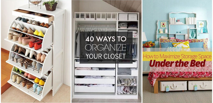 Organize Your Home | Bedroom: