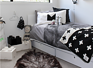 Cool Stuff for Kids | Design Inspiration: Black & White Rooms for Kids - West Coast Mama