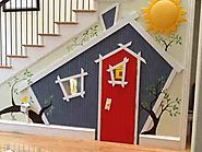 Cool Stuff for Kids | 11 Incredible Kids Playhouses Under The Stairs
