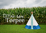 Cool Stuff for Kids | DIY: No-Sew Teepee - Project Nursery