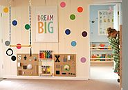 Cool Stuff for Kids | Playroom Design: DIY Playroom with Rock Wall