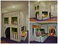Cool Stuff for Kids | DIY: Pallet Kids House Project