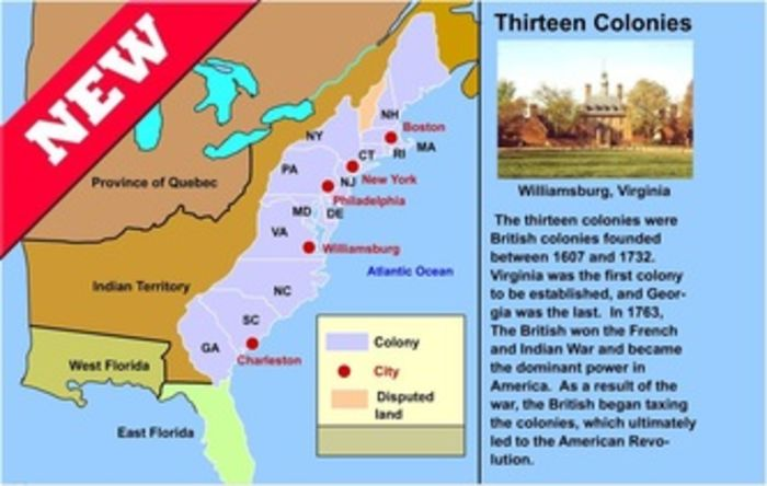 geography was the primary factor in shaping the development of the british colonies in north america In the 13 mainland colonies of british north america, slavery was not the peculiar institution of the south this development would occur after the american revolution and during the first decades of the 19th century.