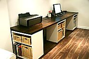 Home Office | 20 Creative Home Office Organizing Ideas - Hative