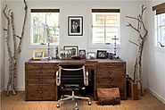 Home Office | 42 Awesome Rustic Home Office Designs | DigsDigs