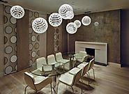 Luxury Dining Table Trends 2015 | Luxury Oval Glass Dining Table With Woven Ball Ceiling Pendant Shade And Fireplaces