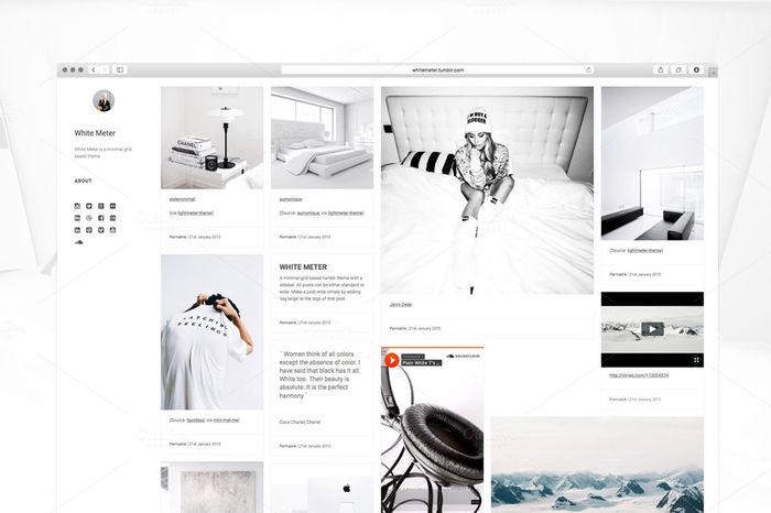 10 Tumblr Themes Under $10 | A Listly List