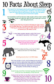All About Sleeping - Facts, Tips and Products for Better Nights | 25 Random Facts about Sleep