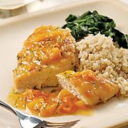 Yummy & Healthy Apricot Recipes | Seared Chicken with Apricot Sauce