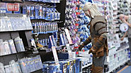The Witcher Looks for the Most Power at an Electronics Shop