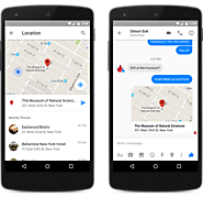 A New Way to Send a Location in Messenger
