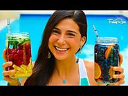 Yummy Infused Water Recipes to Get More Water Daily | FullyRaw Fruit-Infused Vitamin Water