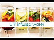 Yummy Infused Water Recipes to Get More Water Daily | DIY Fruit Infused Water