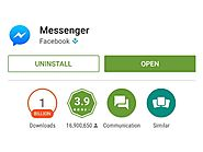 Facebook Messenger Surpasses 1 Billion Android Downloads