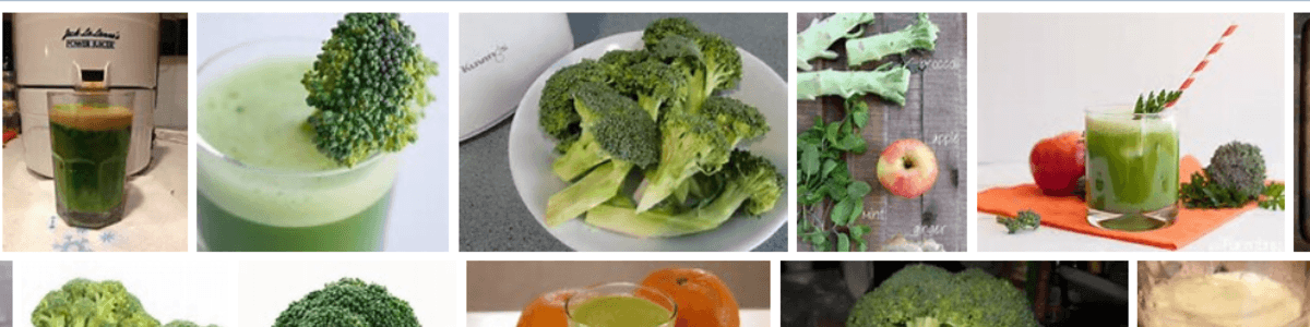Headline for Broccoli Juice Recipes that Taste Good