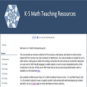 Content - Math | Math Teaching Resources for K-5 Classrooms