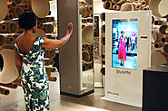 John Lewis in London offers StyleMe, a digital mirror featuring augmented reality.