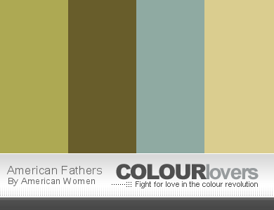 Father's Day Color Schemes