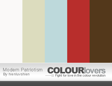 Fourth of July Color Schemes