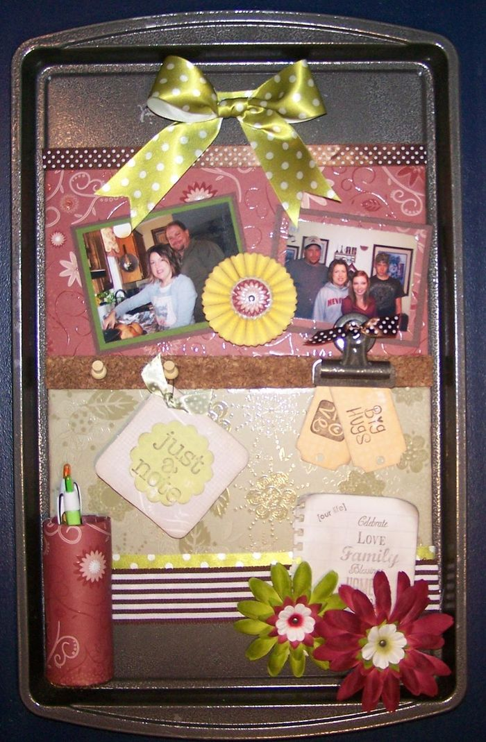 Advent Calendar Item Ideas : Cookie sheet magnet board ideas a listly list