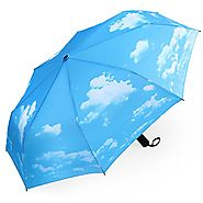 Best Automatic Folding Travel Umbrellas | PLEMO Sunny Sky Automatic Folding Travel Umbrella