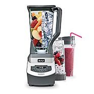 Top Blenders for Making Cocktails | Ninja Professional Blender with Single Serve Blending Cups (BL660)