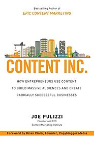 Content Inc. by Joe Pulizzi | Review of Content Inc by Joe Pulizzi - Batch of Books