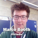 #ictedu Audio | Marco Booth at #ictedu