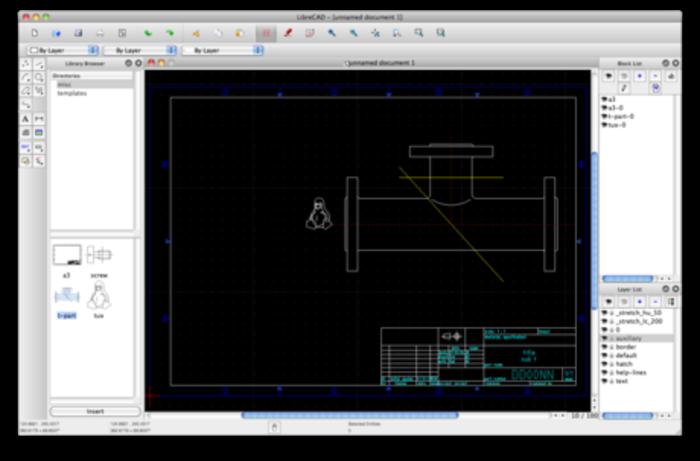 open source cad software a listly list. Black Bedroom Furniture Sets. Home Design Ideas