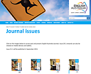 Online Journals for English Language Teachers | English Australia Online