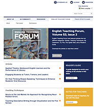 Online Journals for English Language Teachers | American English