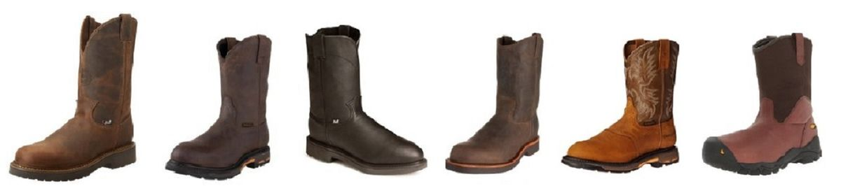 Best Pull On Work Boots for Men - Bag The Web