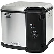 Best Butterball Electric Turkey Fryers | Masterbuilt 23011014 Butterball Indoor Gen III Electric Fryer Cooker Large Capacity