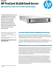 HP Proliant DL560 Gen9 Rack Server