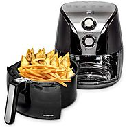 Best Rated Electric Air Fryers | Crover Oil Less Air Fryer - Kitchen Things
