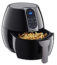 Best Rated Electric Air Fryers | GoWISE USA GW22638 8in1 2.0 Electric Air Fryer - Kitchen Things
