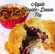 70+ Yummy Paleo Desert Recipes | Apple-Upside Down Pie