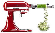 Best Rated Spiral Vegetable Slicers Reviews | iPerfect Kitchen Envy Spiral Slicer Bundle - Vegetable Spiralizer - Zucchini Spaghetti Pasta Maker