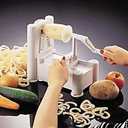 Best Rated Spiral Vegetable Slicers Reviews | Best Rated Spiral Vegetable Slicers 2016 | Learnist