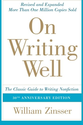 Best Books on Writing | On Writing Well, 30th Anniversary Edition: The Classic Guide to Writing Nonfiction