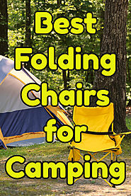 Heavy Duty Camping Chairs for Big People | Folding Camping Chairs with Footrest - Great Gift Ideas