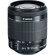 Used Canon EF-S 18-55mm f/3.5-5.6 IS STM Lens 8114B002 B&H Photo