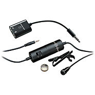 Audio-Technica ATR3350iS Omnidirectional Condenser ATR3350IS B&H