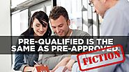 Pre-qualified is the same as pre-approved.