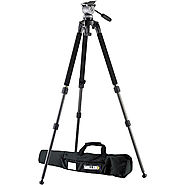 Karin's Tripod and Monopod Recommendations | Miller DS-10 DV Fluid Head with Solo Aluminum Tripod 1640 B&H