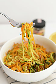 Roasted, Easy, Herby Spiralized Vegetables + 13 More Spiralized Recipes!